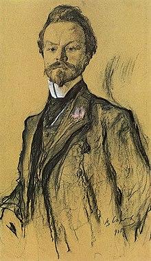 Konstantin Balmont by Valentin Serov 1905.jpg