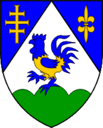 2017–18 Croatian First Football League - Image: Koprivnica County coat of arms