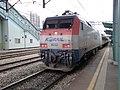 Korail 8232 hauling passenger train.jpg