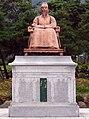 Korea-Danyang-Dodamsambong Sam Bong statue 3076-07.JPG