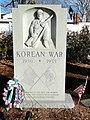 Korean War Memorial - Woburn, MA - DSC02773.JPG