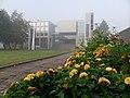 Kouvolan kaupungintalo sumuisena aamuna.jpg