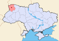 Kovel In Ukraine map.png