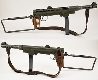 Carl Gustaf m/45 Type of Submachine gun