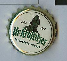 Kronkorken//Bottle Cap Ur-Krostitzer Feinherbes Pilsener