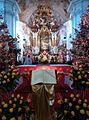 Krzeszów, bazylika Wniebowzięcia Najświętszej Maryi Panny w okresie bożonarodzeniowym(Aw58MW).jpg