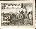 Kupferstich - München - Marienplatz - Altes Rathaus - Wening - 1701.jpg