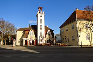 Kuressaare - Historical buildings in city center