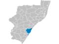 KwaZulu-Natal Municipalities showing eThekwini.png