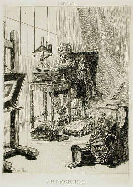 By Félicien Victor Joseph Rops (Belgium, Namur, 1833-1898) [Public domain], via Wikimedia Commons