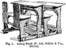 Schulbank zeichnung  Schulbank – Wikipedia