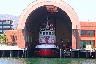 Los Angeles Fire Department - LAFD Fireboat 2, the Warner Lawrence