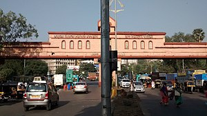 Lal Bahadur Shastri Marg - Entrance to Thane along LBS Marg
