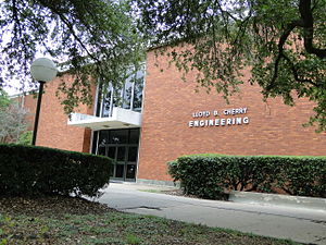 Lamar University - The Cherry building houses the College of Engineering and its faculty and staff