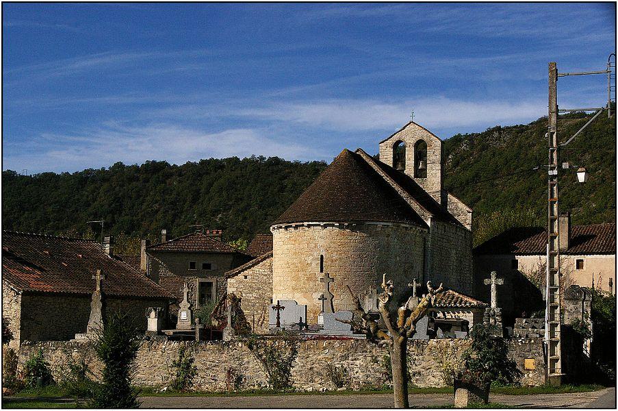 Église Saint-Martin-de-Caïx de Luzech