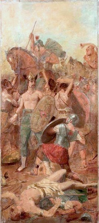 Battle of the Allia - Battle of the Allia by G.Surand