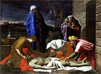 La Lamentation sur le Christ mort - Poussin - National Gallery of Ireland.jpg