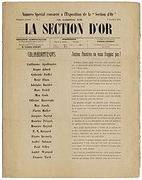 La Section d'Or, numero special, 9 Octobre 1912.jpg