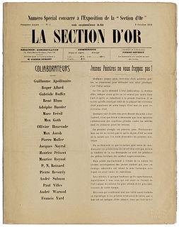 <i>Section dOr</i> art group