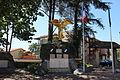 La Verpillière - Pierre à cupules (monument aux morts) 01.JPG