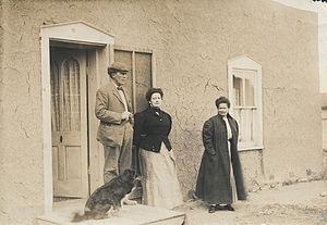 San Luis, Colorado - La casa del senor Don Alberto Forbes, San Luis, 1909