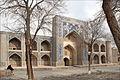 La médersa Nadir Divangebi (Boukhara, Ouzbékistan) (5680501848).jpg