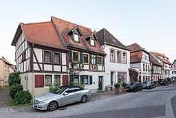 Eintrachtgasse in Ladenburg