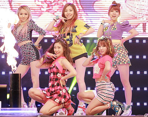 Ladies' Code in October 2013