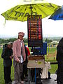 Lady bookie at Sligo races, Ireland (2547041154).jpg
