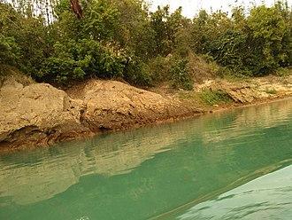 Jaintiapur Upazila - Sari river at Lalakhal, Jaintiapur, Sylhet .