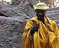 Lalibela, Ethiopia - Man in saffron robe 2 - Flickr - mexikids.jpg