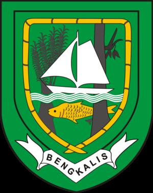 Bengkalis Regency - Image: Lambang Kabupaten Bengkalis