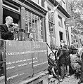 Landelijk Ombudsteam Stadsvernieuwing geopend door Staatssecretaris Schaefer, in, Bestanddeelnr 926-6882.jpg