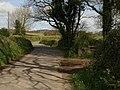 Lane past entrance to Blackingstone Woods - geograph.org.uk - 1290842.jpg