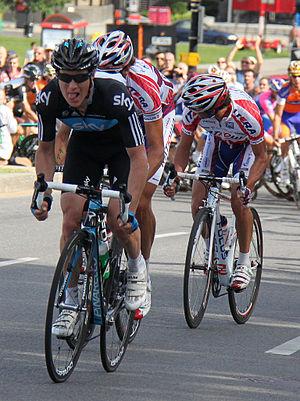 Lars Petter Nordhaug - Nordhaug competing in the 2012 Grand Prix Cycliste de Montréal