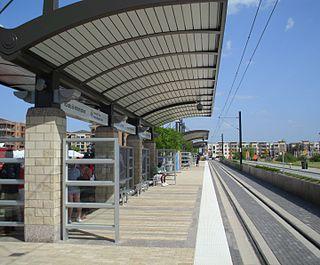 Las Colinas Urban Center station