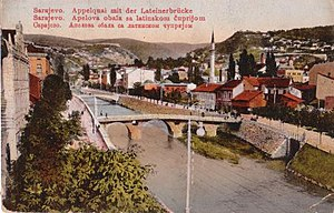 Latin Bridge - Latin Bridge in 1913