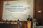 Launching of USAID Vietnam Clean Energy Program. (14118232732).jpg