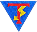 Lauri Törni (Larry Alan Thorne) Company's shoulder patch during Continuation War. Detachment Törni (Osasto Törni)1943.png