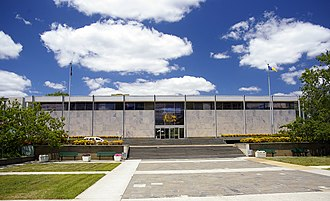 Supreme Court of the Australian Capital Territory - ACT Law Courts building