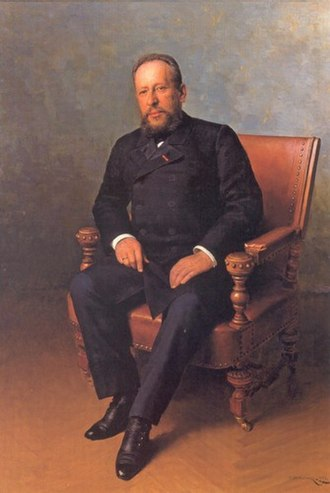 Lazar Brodsky - Portrait of Lazar Brodsky by Mykola Pymonenko