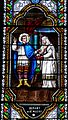 Le Bugue église vitrail St Alexis détail.JPG