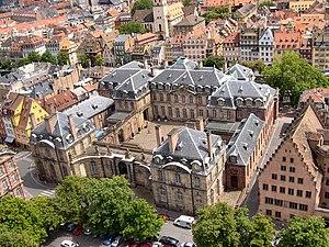 Musée des Beaux-Arts de Strasbourg - Image: Le Palais des Rohans