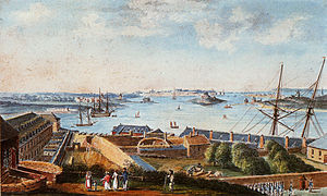 Lorient - L'Enclos at the end of the 18th century