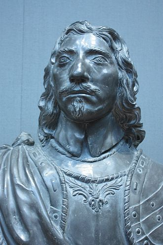 Thomas Fairfax - Lead bust of Thomas Fairfax, c.1650, National Portrait Gallery, London