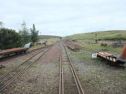 Leadhills Railway Station -8. Shunting Yard.jpg