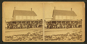 Old Orchard Beach, Maine - Leavitt House, Old Orchard Beach, Maine, circa 1870