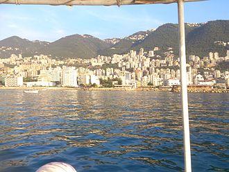 Geography of Lebanon - Lebanese Coastline
