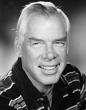 English: Publicity photo of Lee Marvin as a gu...