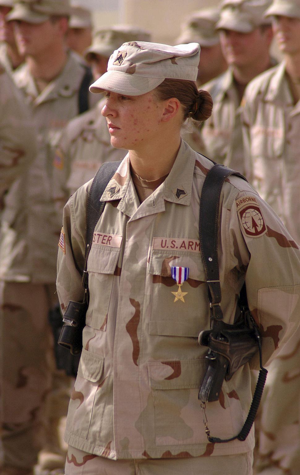 Leigh Ann Hester medal